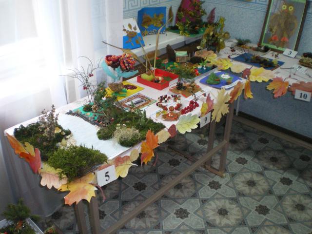 Осенние поделки детского сада СКВОРУШКА.